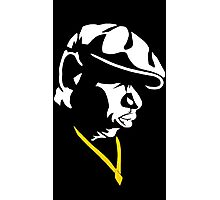 The Notorious B.I.G. Silhouette Photographic Print