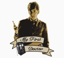 Doctor Who - My first Doctor (Who) Tenth 10th David Tennant One Piece - Long Sleeve