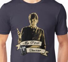 Doctor Who - My first Doctor (Who) Tenth 10th David Tennant Unisex T-Shirt
