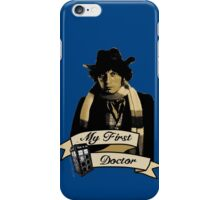 Doctor Who - My first Doctor (Who) Fourth 4th Tom Baker iPhone Case/Skin