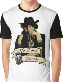 Doctor Who - My first Doctor (Who) Fourth 4th Tom Baker Graphic T-Shirt