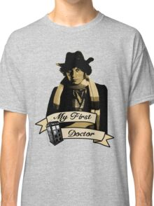 Doctor Who - My first Doctor (Who) Fourth 4th Tom Baker Classic T-Shirt