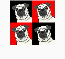 Pugly Is Beautiful Red and Black Checkerboard Unisex T-Shirt