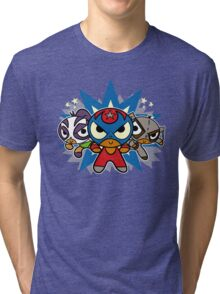 Mucha Luchapuff Tri-blend T-Shirt