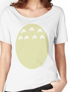 My Neighbor Totoro belly Women's Relaxed Fit T-Shirt