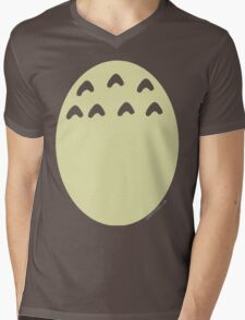 My Neighbor Totoro belly Mens V-Neck T-Shirt