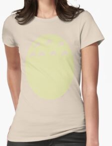 My Neighbor Totoro belly Womens Fitted T-Shirt