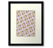 Schweinehund_pattern Framed Print
