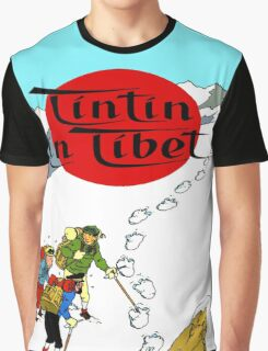 Tintin in Tibet Graphic T-Shirt