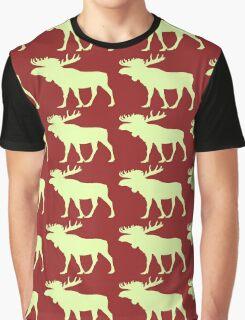 Moose Graphic T-Shirt