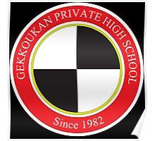 Gekkoukan Private High School Poster