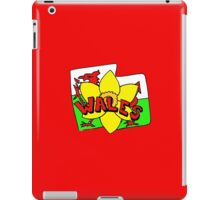 WALES CYMRU iPad Case/Skin