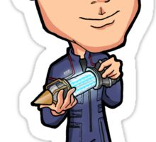 "Star Trek Enterprise - Charles Tucker III The Third ""Trip"" Chief Engineer with Plasma Injector Sticker"