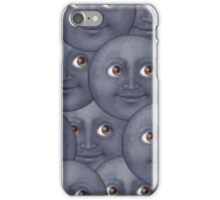 Moon emoji design iPhone Case/Skin
