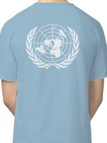 UNITED NATIONS, UN, EMBLEM of the United Nations, EMBLEM OF THE UN, PURE AND SIMPLE Classic T-Shirt