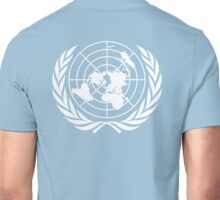 UNITED NATIONS, UN, EMBLEM of the United Nations, EMBLEM OF THE UN, PURE AND SIMPLE Unisex T-Shirt