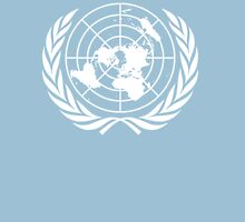 UNITED NATIONS, EMBLEM of the United Nations, EMBLEM OF THE UN, PURE AND SIMPLE Unisex T-Shirt