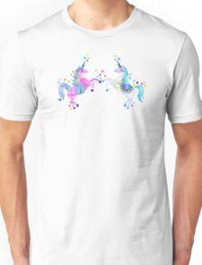 Pastel Unicorns Unisex T-Shirt