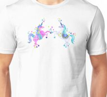 Pastel Unicorns Unisex T-Shirt