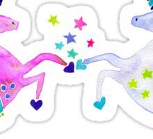 Pastel Unicorns Sticker