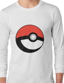 Pokeball Transparent Long Sleeve T-Shirt