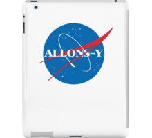 Allons-y NASA logo iPad Case/Skin