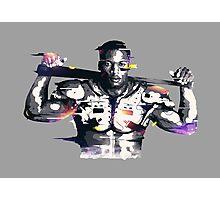 Bo Jackson- Raiders Photographic Print