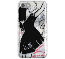 Graffiti on Gainsbourg's wall iPhone Case/Skin