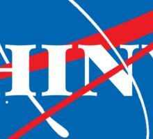 Shiny - NASA logo Sticker