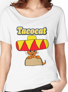 Taco Cat Women's Relaxed Fit T-Shirt