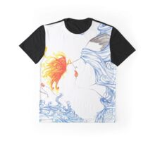Kiss of the Butterfly Graphic T-Shirt