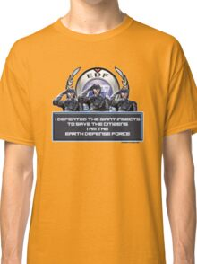 EDF - I am the Earth Defense Force Classic T-Shirt