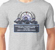 EDF - I am the Earth Defense Force Unisex T-Shirt