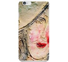 Ceramic face iPhone Case/Skin