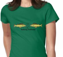 Talking Pollocks... Womens Fitted T-Shirt