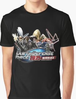 EDF - Earth Defense Force 2025  Graphic T-Shirt