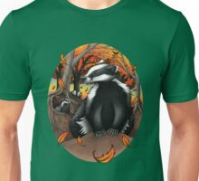 Badgers at Fall Unisex T-Shirt