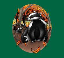 Badgers at Fall Unisex T-Shirt