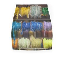 Chiclayo Peru Brightly coloured braiding on the market. Mini Skirt