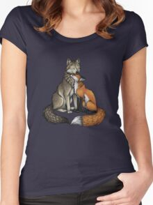 Wolf & Fox Women's Fitted Scoop T-Shirt
