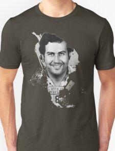 Pablo Escobar Mugshot Continent 2 Unisex T-Shirt