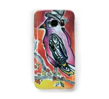Color you room with a rainbow bird Samsung Galaxy Case/Skin