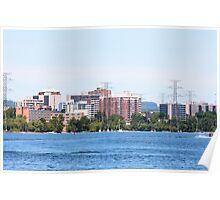 Burlington, Ontario, Canada skyline Poster