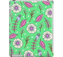 Spring Blossoms in Green iPad Case/Skin