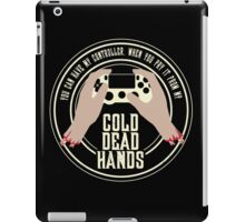 Cold Dead Hands - Playstation iPad Case/Skin