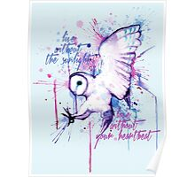 Live Without The Sunlight Owl Poster
