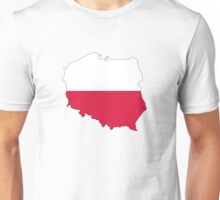Poland Map And Flag Unisex T-Shirt