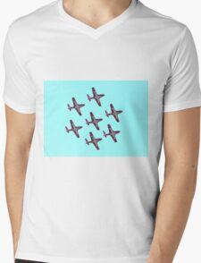 Aerobatic formation Snowbirds Mens V-Neck T-Shirt