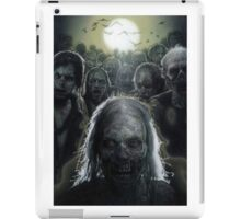 Zombies are rising (T-shirt, Phone Case & more) iPad Case/Skin