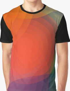 Concentric abstract pattern Graphic T-Shirt